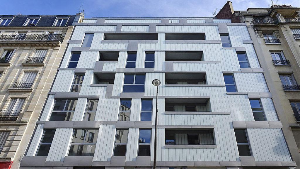 La façade de la rue Trousseau - Paris 11e