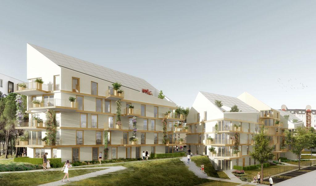 Quartier des chantiers - Versailles (78)
